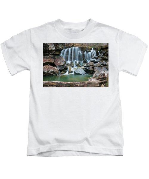 Wolf Creek Falls Kids T-Shirt