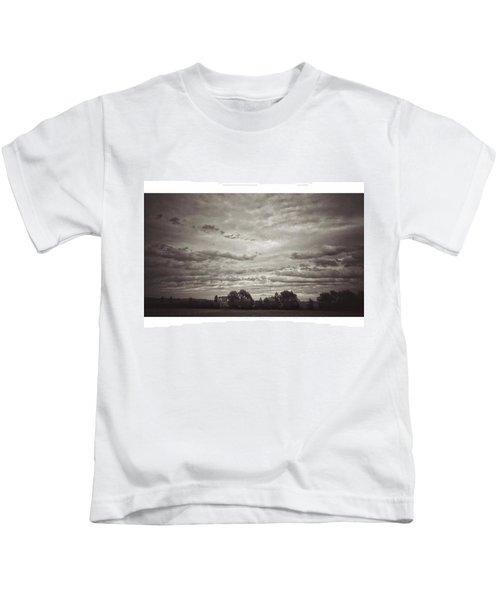 Wolken über Mir  #wolken #cloudscape Kids T-Shirt