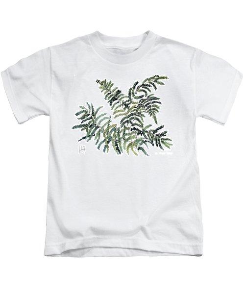 Woodland Maiden Fern Kids T-Shirt