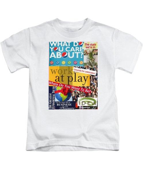 Work At Play Kids T-Shirt