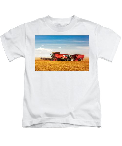 Working Side-by-side Kids T-Shirt