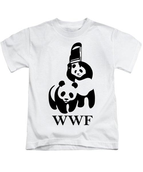 Wwf Parody Kids T-Shirt