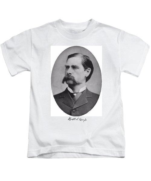 Wyatt Earp Autographed Kids T-Shirt