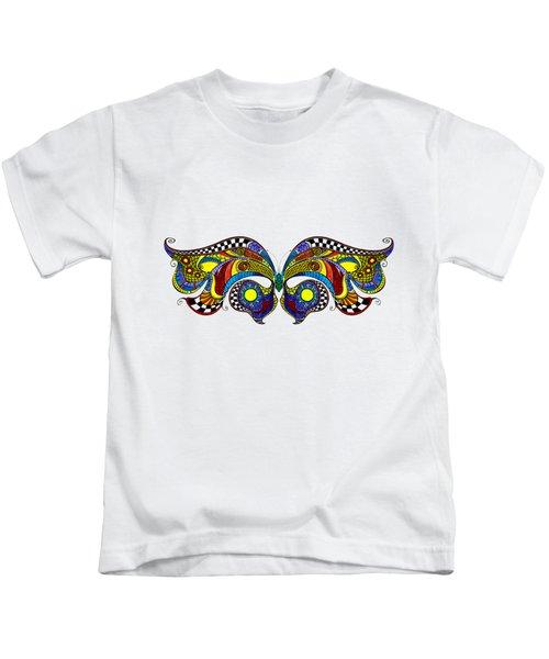 Chrysalis Kids T-Shirt by Dar Freeland