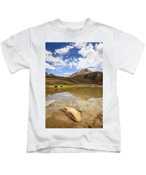 Yaks In Ladakh Kids T-Shirt