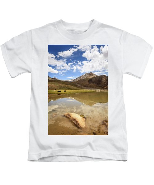 Yaks In Ladakh Kids T-Shirt