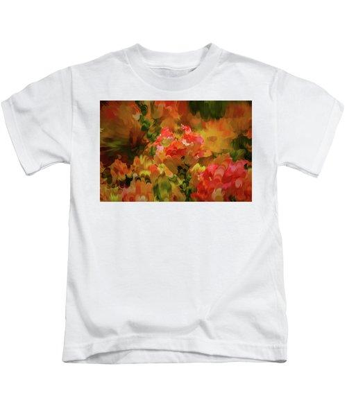 Yellow And Orange #h6 Kids T-Shirt
