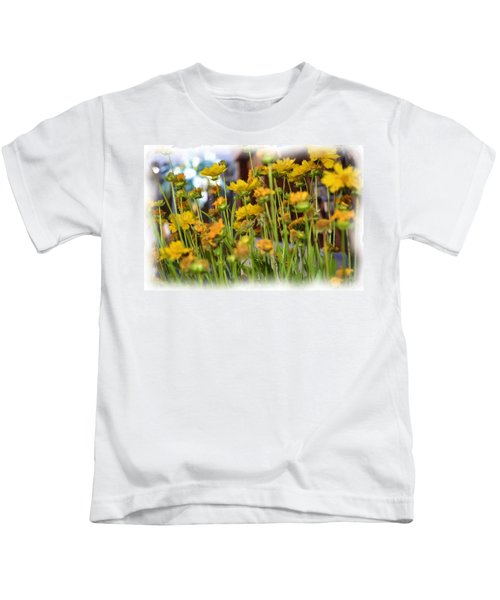 Yellow Fields Kids T-Shirt