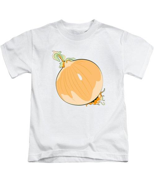 Yellow Onion Kids T-Shirt