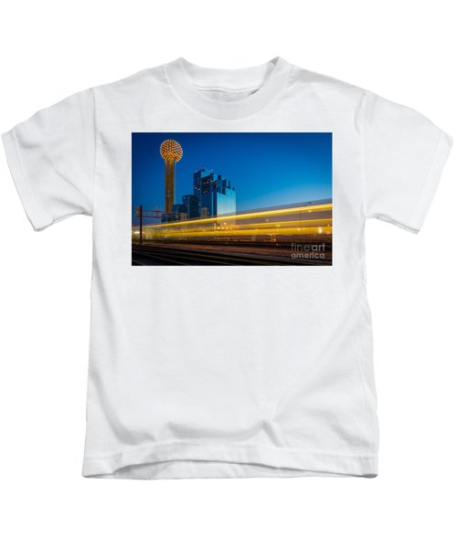 Yellow Trail Kids T-Shirt