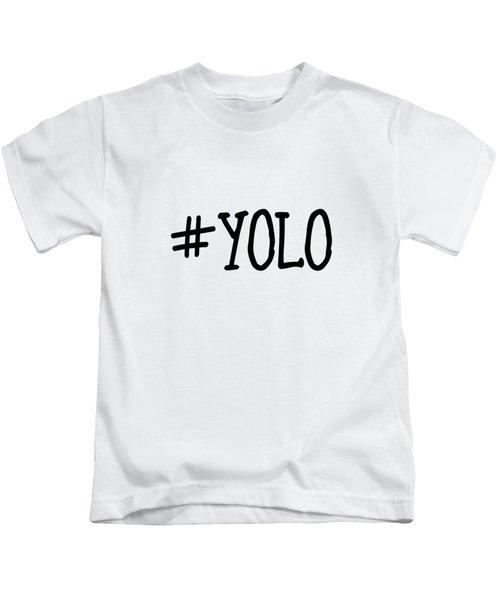 #yolo Kids T-Shirt
