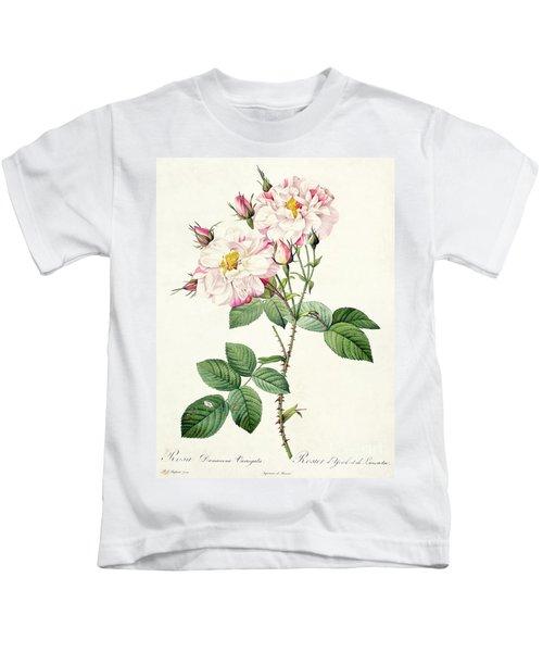 York And Lancaster Rose Kids T-Shirt
