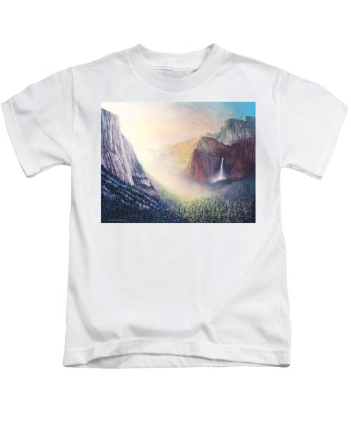 Yosemite Morning Kids T-Shirt