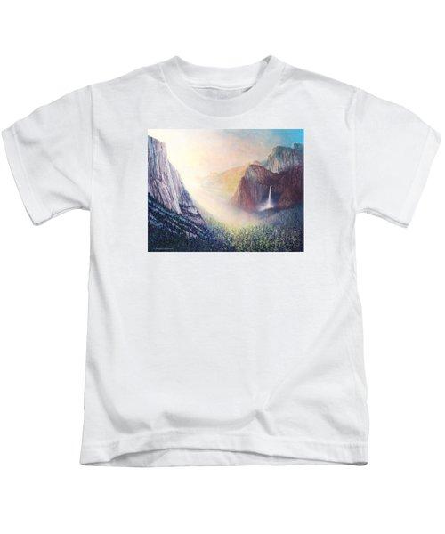 Yosemite Morning Kids T-Shirt
