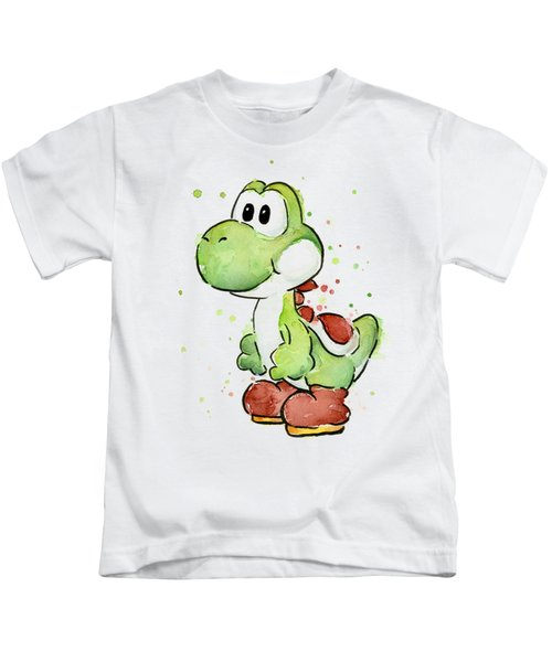 Yoshi Watercolor Kids T-Shirt