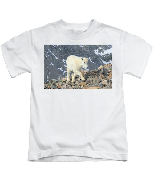 Youngest Climber Kids T-Shirt