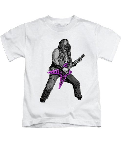 Zakk Guitarist Kids T-Shirt