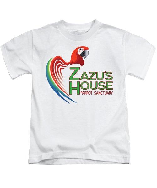 Zazu's House Parrot Sanctuary Kids T-Shirt