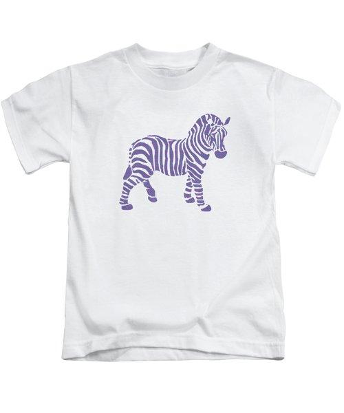 Zebra Stripes Pattern Kids T-Shirt