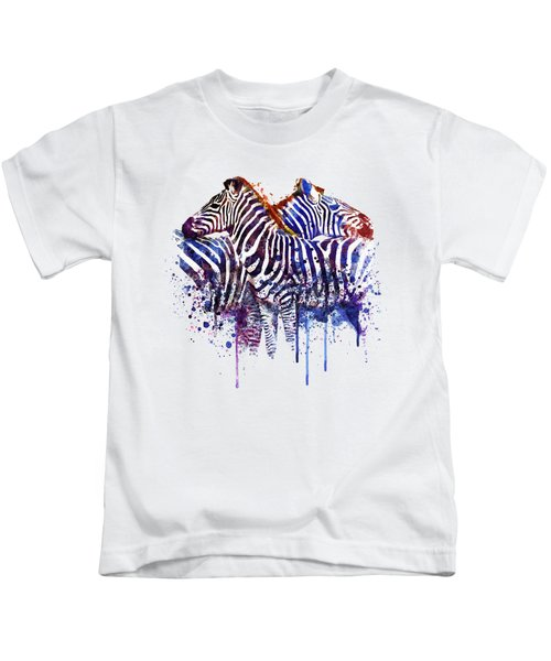 Zebras In Love Kids T-Shirt