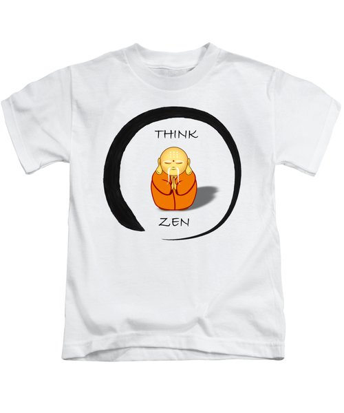 Zen Symbol With Buddha Kids T-Shirt