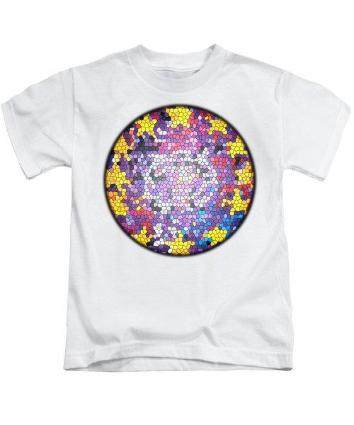 Zooropa Glass Kids T-Shirt by Clad63