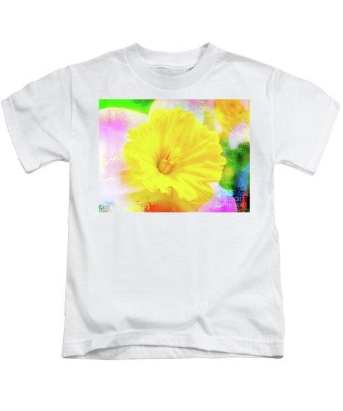 Daffy Daffodil 2 Kids T-Shirt