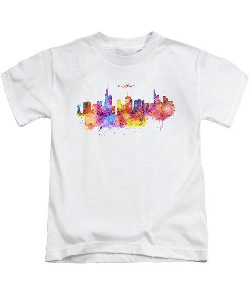Frankfurt Skyline Kids T-Shirt