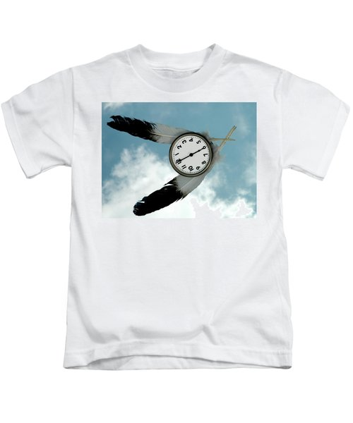 How Time Flies Kids T-Shirt