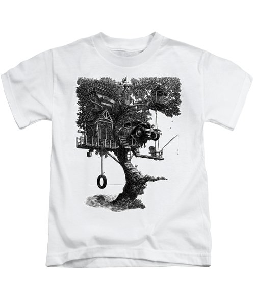 Lake Front Dream House Kids T-Shirt