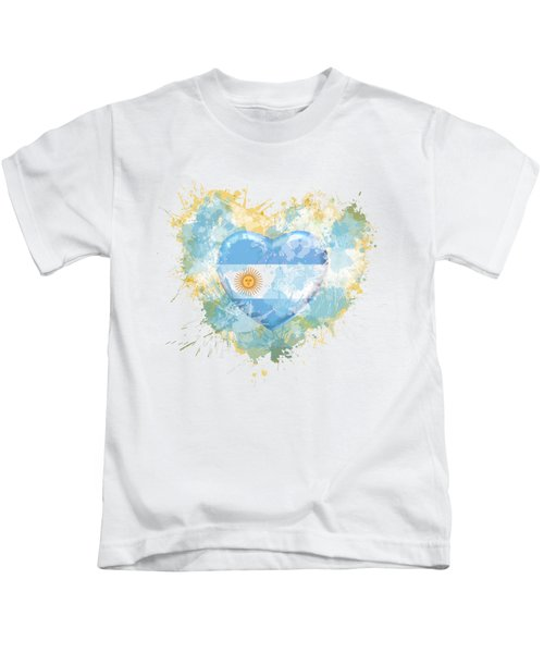 Love Argentina Kids T-Shirt