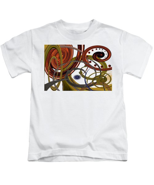 Summer Swirls Kids T-Shirt
