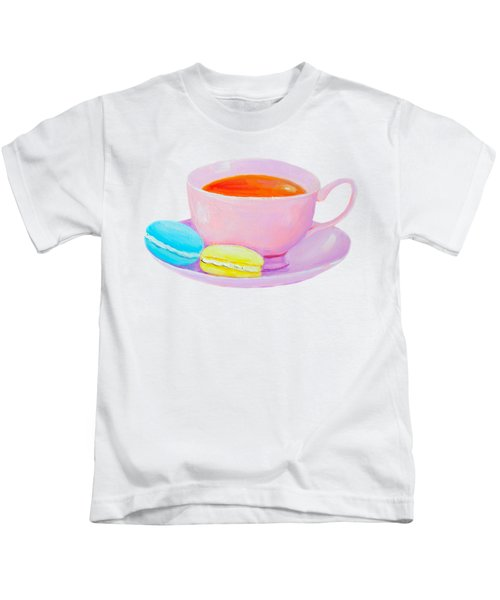 Tea And Macaroons Kids T-Shirt