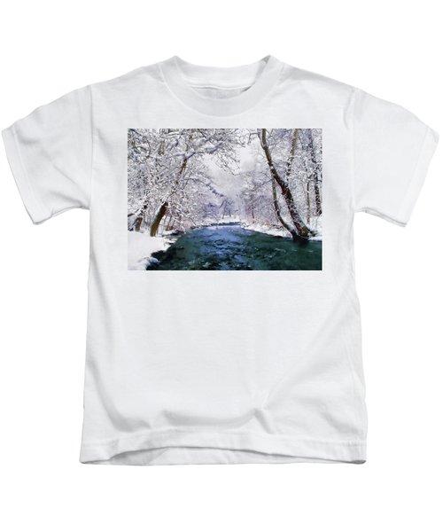 Winter White Kids T-Shirt