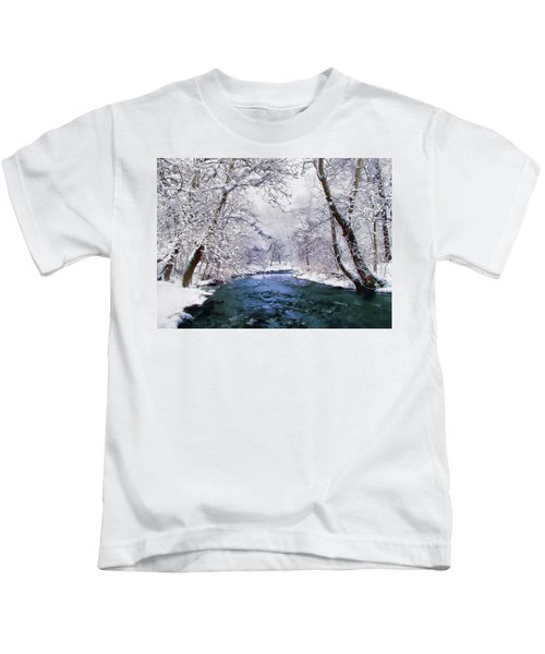 Winter White Kids T-Shirt