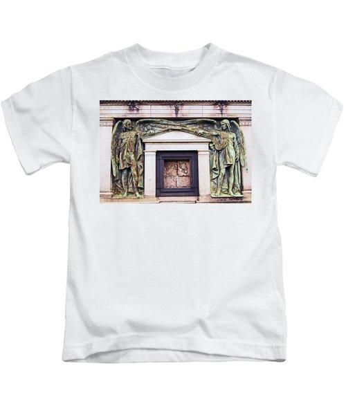 18/09/13 Glasgow. The Necropolis, Double Angels. Kids T-Shirt