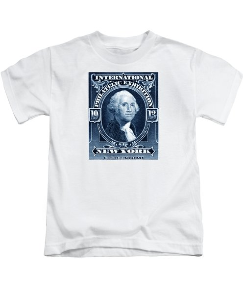 1913 New York International Philatelic Exhibit Kids T-Shirt