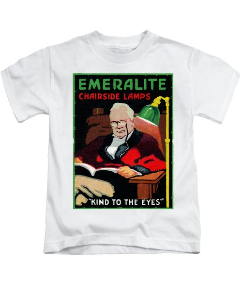 1915 Emeralite Chairside Lamps Kids T-Shirt