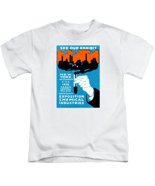 1939 Nyc Chemical Expo Poster Kids T-Shirt