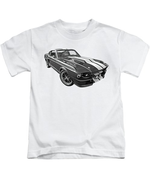 1967 Eleanor In The Clouds Kids T-Shirt