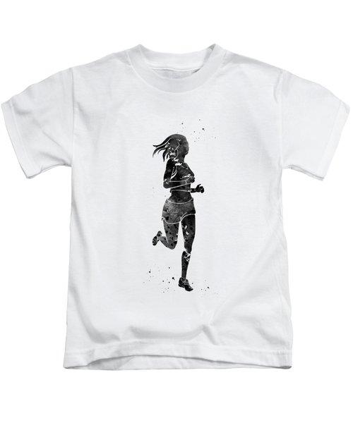 Running Woman Kids T-Shirt