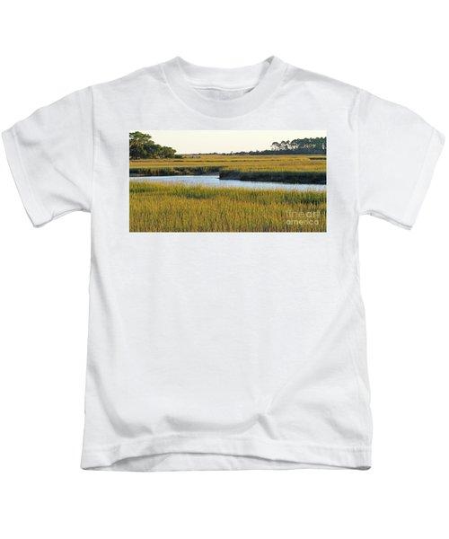 South Carolina Salt Marsh Kids T-Shirt