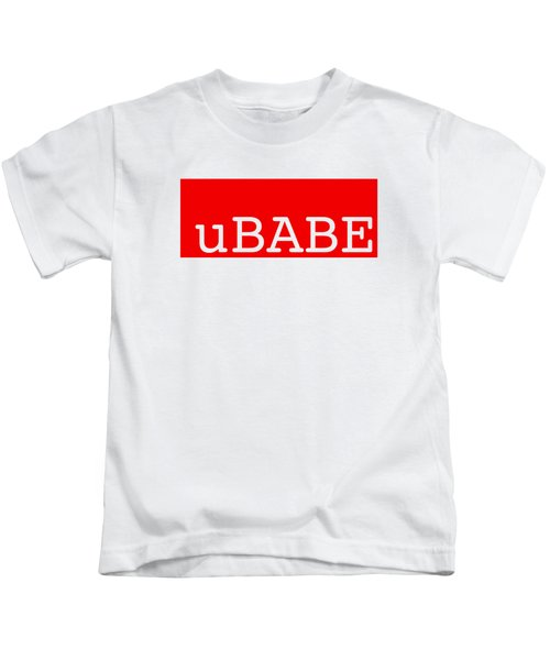 uBABE Label Kids T-Shirt