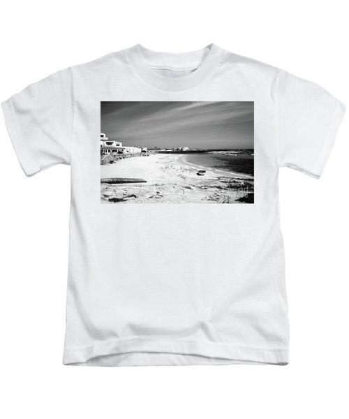 Es Pujols Beach, Formentera Kids T-Shirt
