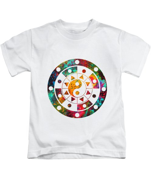 Mandala-colorful Kids T-Shirt