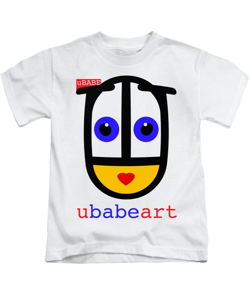 uBABE Art Kids T-Shirt