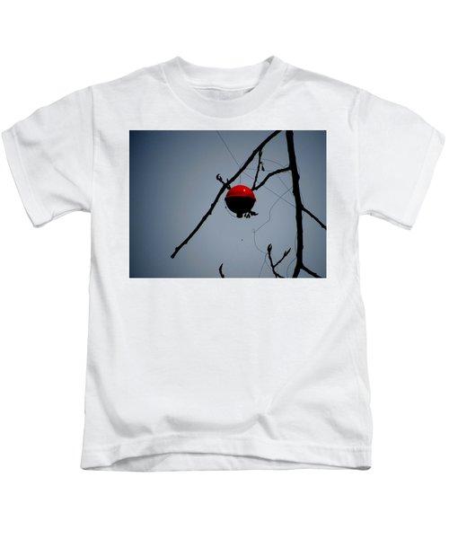 A Bad Day Fishing Kids T-Shirt