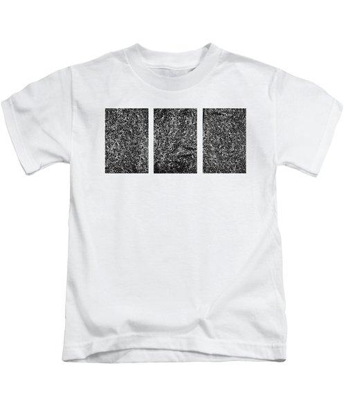 Galaxy Triptych  Kids T-Shirt