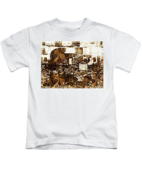 Abstract Map Kids T-Shirt