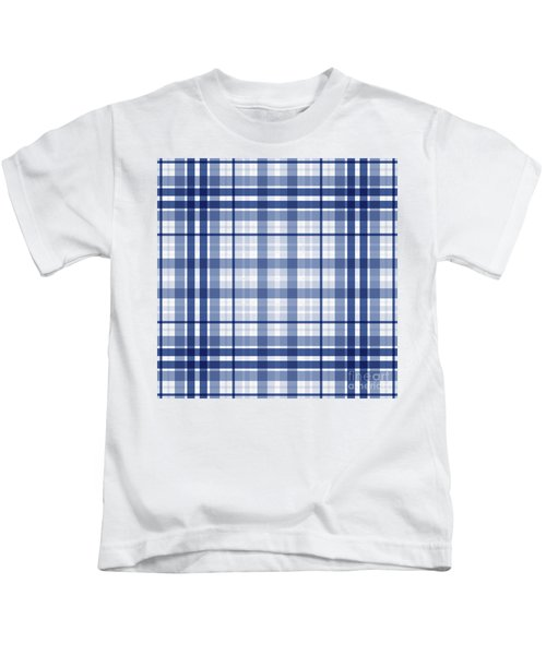 Abstract Squares And Lines Background - Dde611 Kids T-Shirt